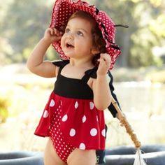 Ladybug swim suit from Gymboree :)
