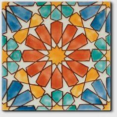 Arabic Design, Arabic Art, Geometric Drawing, Geometric Art, Islamic Art Pattern, Pattern Art, Motifs Islamiques, Islamic Tiles, Art Populaire