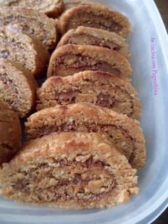 Rotolo di biscotti (ricetta riciclo)   In cucina con Pagnottina
