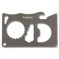 Explorer™ Survival Card