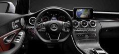 Erste Fotos vom Innenraum der neuen Mercedes C-Klasse 2015