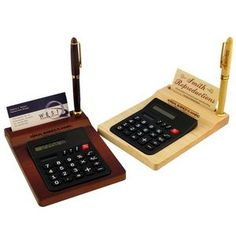 Calender Alarm Clock And Calculator Desk Set With Pen Holder Fine Quality World Time