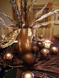 I can't wait for Christmas next year-everything is going to be gold and bronze and animal print and amazeballs