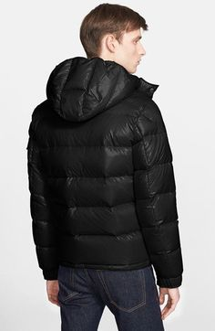 Moncler 'Maya' Lacquered Down Jacket | Nordstrom