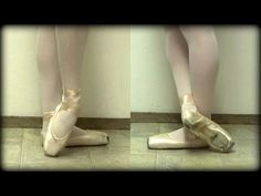 How to Not Sickle - Bevel/Wing Your Feet for Ballet - Exercises and Stretches - YouTube