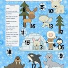 Polar Pals Addition, Subtraction, and Multiplication Bump Games (1.OA.6, 2.OA.2), free