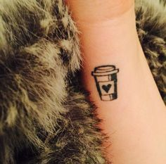 13 Tattoos Every Coffee Lover Needs - tatoo - 13 Tattoos, Food Tattoos, Science Tattoos, Body Art Tattoos, Tatoos, Lover Tattoos, Ankle Tattoos, Arrow Tattoos, Disney Tattoos