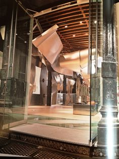 Frank O' Gehry - Issey Miyake store, Tribeca
