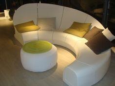 Futuristic couch