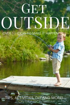 It's THAT time of year when we get to simplify and GET OUTSIDE. We have rounded up over 50 activities and ideas to get you and your family outside! Take a peek.
