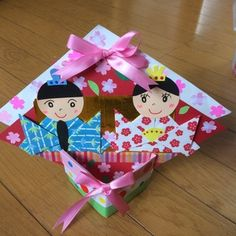 Boys Day, Arts And Crafts, Paper Crafts, Japanese Girl, Holidays And Events, Diy For Kids, Origami, Gift Wrapping, Christmas Ornaments
