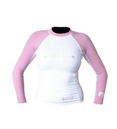 Body Glove Aura Women`s Long Sleeve Lycra Rash Guard $32.59