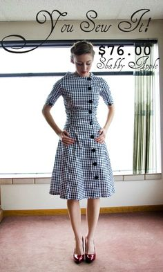 #sew it yourself! LOVE this dress. :)