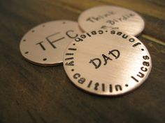 Gift for Dad...Golf ball marker