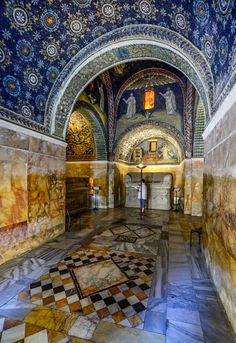 Mausoleum of Galla Placidia, Ravenna, Italy