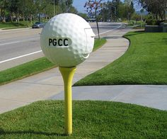 golf mailbox - haha, my husband would love this, but he'll never have it!
