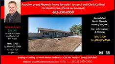 3 bedroom 2 bath home for sale in 85029  https://hitechvideo.pro/USA/AZ/Maricopa/Phoenix/2301_w_Wethersfield.html  Call Chris – 602-290-0950 –Special Financing Available Save $40,788 on the financing on this freshly remodeled home on big lot. This 3 bed 2 bath home in 85029 has an open floor plan on a large lot has plenty of room for the whole family. the list of ''news'' is endless. Paint, carpet, tile, vanities, tubs, toilets, lighting faucets and fixtures. The gourmet kitchen boast…