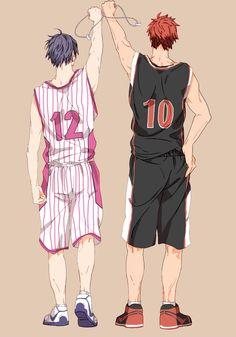 Kuroko's Basketball (Kuroko no Basuke) - Taiga Kagami and Tatsuya Himuro -By N@ruto Kaari$