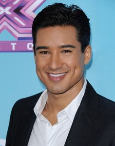 Mario Lopez - he's pretty handsome.. and those DIMPLES!  Don't you just want to fall into them?