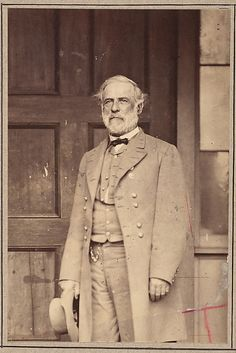 General Robert E. Lee- Mathew Brady's Last Wartime Photograph Mathew B. Brady (American, near Lake George, New York 1823?–1896 New York) Date: 1865 Medium: Albumen silver print from glass negative Dimensions: Image: 14 × 9.3 cm (5 1/2 × 3 11/16 in.) Classification: Photographs Credit Line: Gilman Collection, Museum Purchase, 2005 Confederate General Robert E. Lee surrendered his army to Union General Ulysses S. Grant at Appomattox Court House, Virginia, on April 9, 1865. The Civil War was ov...