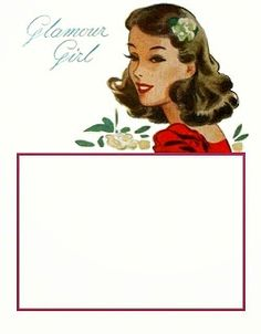bumble button: Free Vintage Button Cards - LuckyDay and Bluebird Brand Reprodutions