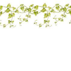 Google Image Result for http://www.thestencilstudio.com/ekmps/shops/thestencilshop/images/ivy-border-stencil-%5B3%5D-572-p.jpg