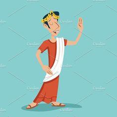 Greek Roman. Human Icons. $5.00