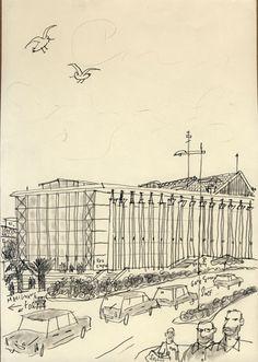 Philippe Doro : Marseille, la gare St Charles.