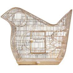 Frederick Weinberg Bird-Shaped Bird Cage 1950s