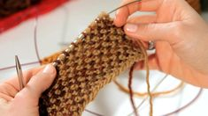 How to Do a Linen Stitch   Knitting