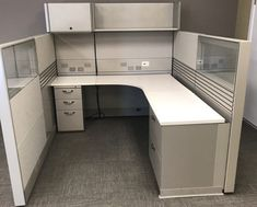 Herman Miller Ethospace office cubicles come with limitless design flexibilities. Here are some office cubicle facelift ideas that come at a fraction of the cost of new office cubicles.  #HermanMillerOfficeCubicles, #officecubicles, #usedofficecubicles