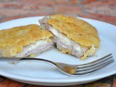 Gluten free cutlet with ham and cheese - Cotolette senza glutine ripiene di prosciutto e formaggio