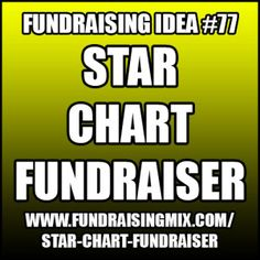 Create and sell construction paper stars and that can be made into constellations by connecting them! #fundraising #fundraiser #ideas #stars #artsandcrafts