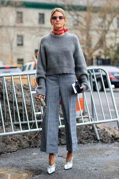 Street Style New York Fashion Week 17/18 @lefrenchystyle