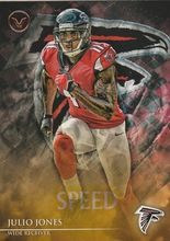 2014 Valor Football Speed #81 Julio Jones - Atlanta Falcons