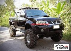 Massive Wide Wheel Arch Flares *** Nissan Navara D22 (4door)