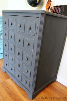 Faux Apothecary Cabinet - Pottery Barn Inspired Makeover | Pottery ...