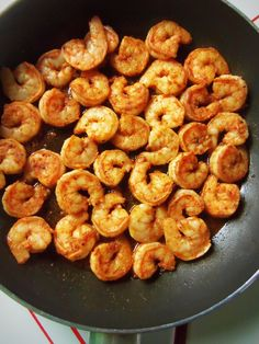 Tips~ A quick saute is all you need for the shrimp. It will continue to cook even after you remove it from the heat.