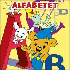 Alfabetet – Bamse.se