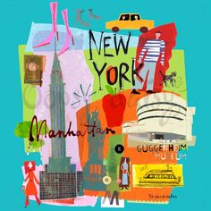Tour New York - Global Canvas Wall Art | Greenbox