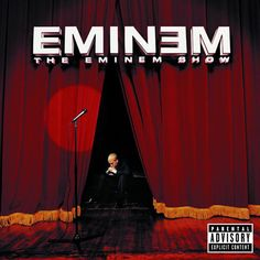 """The Eminem Show is the studio album from the Detroit MC, and the third and final of his """"Persona Trilogy"""" which started with The Slim Shady LP. The Slim Shady LP saw Eminem Rap Albums, Hip Hop Albums, Best Albums, Music Albums, Eminem Albums, Eminem Album Covers, Greatest Albums, The Eminem Show, Slim Shady"""