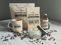 Branding & Retail Packaging: The Coiffee Shop