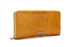 Snake print XL zip around leather wallet. It includes large interior compartments.  #Abbacino #Summerinthecity #SS15