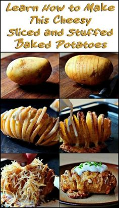 Hasselback Potatoes: Cheesy Sliced and Stuffed Baked Potatoes
