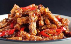 Marinated in indonesias favourite sweet soy sauce. Cooked by the Sri Tempeh, Kung Pao Chicken, Soy Sauce, Foods, Live, Cooking, Sweet, Ethnic Recipes, Food Food