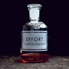 EFFORT (CONCENTRATED)
