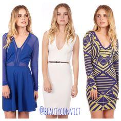 http://www.beautyconvict.com/clothing/royally-blue-skater-dress.html http://www.beautyconvict.com/clothing/luxe-jacquard-bodycon-dress.html http://www.beautyconvict.com/it-s-endearing-bodycon-dress.html