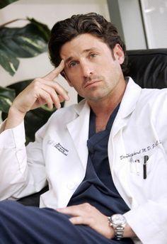 Patrick Dempsey as dr Derek Shepherd