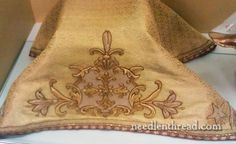 Goldwork Vestments for St. Therese of Lisieux