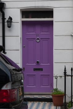 A purple door would be fun though too :)